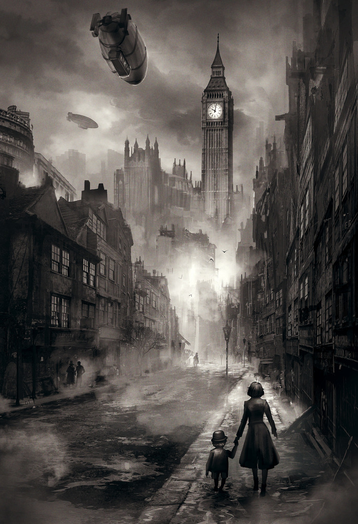 Pc rpg for Gothic city tattoos